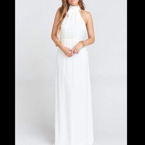 NWOT Show me Your MuMu Collette Collar Dress